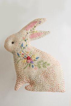 Bunny No. 9, bunny in bloom by WoodlandTale