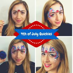 Step- by- step tutorials of quick and awesome 4th of July designs!