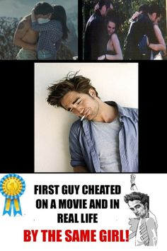 Cheated in a movie and in real life.