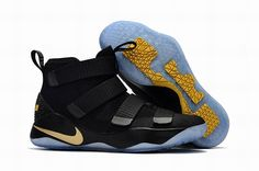 more photos 1c061 c1fb4 Nike Lebron Soldier 11 black gold For Sale On Newadidasboost Store