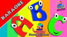 KARAOKE | Norsk alfabet | ABC sang | Alfabetsang | Norwegian Alphabet So... Rhymes For Babies, Kids Nursery Rhymes, Karaoke, Abc Songs, Twinkle Twinkle Little Star, Little Babies, Activities For Kids, Alphabet, Singing