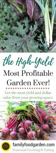The High-Yield Profitable Garden -