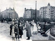 BERLIN 1902 Berlin - Viktoria-Luise-Platz in Schöneberg