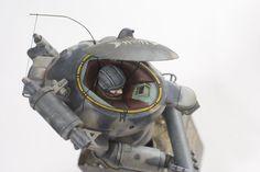 Ma.K. SAFS-R Raccoon. Built by dainaka (大 仲) #Maschinen_Krieger #robot #model #safs