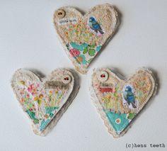 hens teeth :: brooches/pins