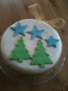 Christmas cake. Celebration cakes