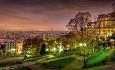 Vue de Paris depuis la butte Montmartre