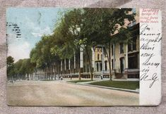 Saratoga Springs, N. United States and Worden Hotels ( Spring In New York, Spring New, Saratoga Springs New York, Upstate New York, Vintage Crafts, Vintage Postcards, Sidewalk, Hotels, United States