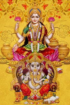 New Year Make a Great Start by Achieving Abundant Wealth, Health & Prosperity Kali Goddess, Indian Goddess, Mother Goddess, Shri Ganesh Images, Ganesha Pictures, Diwali Pictures, God Pictures, Hindu Deities, Hinduism