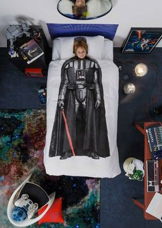 Darth Vader Or Chewbacca Star Wars Bedding Star Wars Room Decor, Star Wars Bedroom, Star Wars Nursery, Star Wars Bedding, Decoracion Star Wars, Kids Collection, Best Duvet Covers, Darth Vader, Star Wars Kids