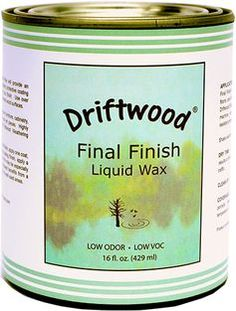 Driftwood Final Finish Liquid Wax Pint, Non-Toxic Liquid Furniture Wax Maintains Your Driftwood Weathered Wood Finish and Creates An Easy Wax Finish over Chalk Paint - Driftwood 4 Us Driftwood Furniture, Driftwood Projects, Furniture Wax, Driftwood Art, Driftwood Ideas, Driftwood Sculpture, Aquarium Driftwood, Painted Driftwood, Decorating With Driftwood