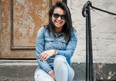 16 Casual denim looks you'll want to wear all summer long: Double denim outfit