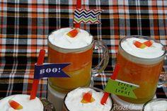 Halloween Party Food: Candy Corn Slushies | Pocket Change Gourmet