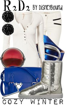 Disney Bound: from Disney's Star Wars (Cozy Winter Outfit) Disney Themed Outfits, Character Inspired Outfits, Disney Dresses, Disney Clothes, Fandom Fashion, Geek Fashion, Disney Fashion, Fashion Ideas, Casual Cosplay
