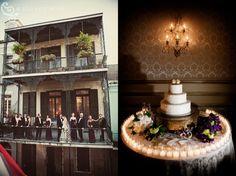New Orleans wedding at the Bourbon Orleans Hotel. www.bourbonorleans.com Photo credit: Art de Vie