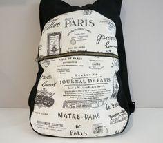 Una mochila muy chula, con tuto y patrones