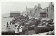 Broughty Ferry Fishing boats.. late 1880's or 1890's...