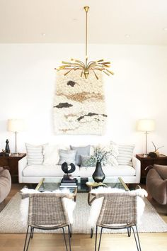How to Make Affordable Decor Look Expensive/ wall weaving by Meghan Shimek