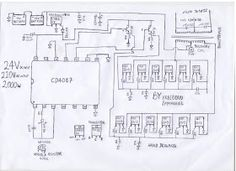dc to ac inverter circuit diagram by freeborn Emm. Solar Panel Battery, Solar Panel Cost, Solar Panel System, Solar Panels, Panel Systems, Electrical Circuit Diagram, Electrical Wiring, Electrical Engineering, Dc Circuit