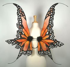 I think there should be monarch butterfly wings in the annual Victoria's Secret Fashion Show.