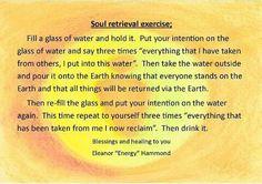 Soul retrieval exercise