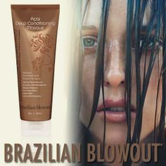 "Quench Your Hair with this once a week ""mini"" smoothing treatment, and your hair will thank you. Brazilian Blowout, Deep Conditioning, Smooth Hair, Hair Products, Your Hair, Conditioner, Hair Color, Spa, Mini"