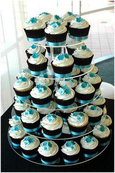 Wedding Cupcake Ideas by Elise Leveque. Read the blog: http://madmoosemama.blogspot.ca/2012/06/wedding-cupcake-ideas.html