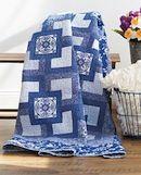 Forever in Blue Jeans - quilt denim quilt scrap quilt easy quilt
