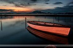 A nap képe - Magányos csónak