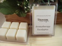 Eucalyptus Essential Oil Soy Wax melt by TheCountryEscape