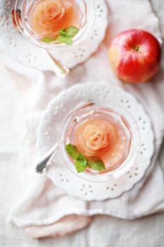 autumn apple roses // omg MUST make this! so elegant!