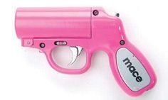 The Pink Mace 28gm Pepper Spray gun is a something spicy like no other.