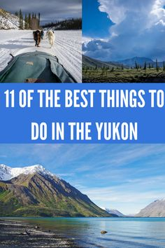 For a made in Canada adventure head to the Yukon. Here are 11 suggestions of superb things to do in the Yukon including rafting, aurora viewing & hiking. Places To Travel, Travel Destinations, Places To Visit, Travel Things, Canada Travel, Travel Usa, Alaska Travel, Travel Maps, Backpacking