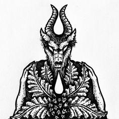 """Poison Apple Printshop on Instagram: """"Something new in the works. ✍🏽 #poisonappleprintshop #oldone #mandrake #witchcraft #witchessabbat #sketchbook"""" Poison Apples, Sabbats, Old Ones, Witchcraft, Original Artwork, Tattoo Ideas, Tattoos, Instagram, Tatuajes"""