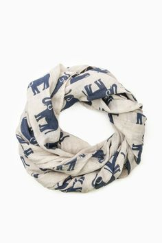 ShopSosie Style : Elephant Collection Scarf