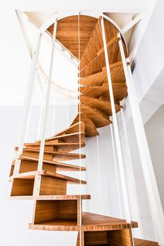 OlmO Staircase by Brussels design firm Jo-a #InteriorDecorInspiration #Staircases