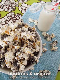 Cookies & Cream Popcorn ...yummy!!