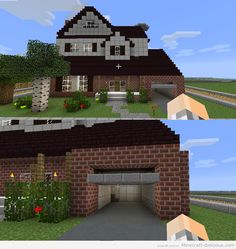 Minecraft pretty house