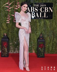 The 15 Best-Dressed Celebrities at the ABS-CBN Ball 2019 - Star Style PH Source by deejaykanda dress celebrity Modern Filipiniana Gown, Filipiniana Wedding, Elegant Dresses, Nice Dresses, Prom Dresses, Wedding Dresses, Quinceanera Dresses, Evening Dresses, Michael Cinco Gowns