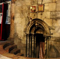 UNESCO World Heritage Properties in danger: Birthplace of Jesus: Church of the Nativity and the Pilgrimage Route, Bethlehem, Palestine.