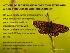 #AbrahamHicksQuote #FinancialWellBeing #Joy