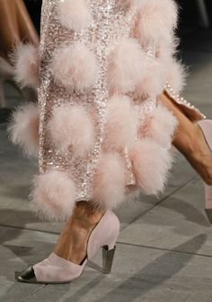 poms everywhere ! chanel 2013
