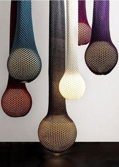 Las lámparas de punto de Ariel Zuckerman