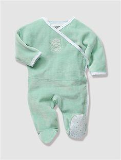 Newborn Smart Pyjamas Opal+Powder pink+White