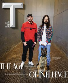 Balenciaga and Demna Gvasalia, along with Alessandro Michele, featured on one of the four covers of Tmagazine
