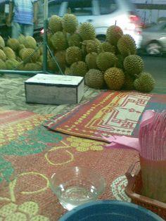 Hmm.. Durians...