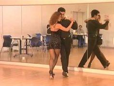 Cours de tango Argentin Milonga (6/9) - Les pas chassés