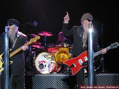 ZZ Top is a band of tremendous blues-rock musicians.  Fav three tunes are Waitin' For The Bus/Jesus Just Left Chicago, Got Me Under Pressure & I Thank You.