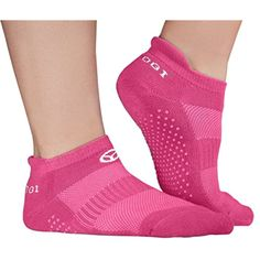 OgiYogi Womens Yoga/Fitness Grip Socks - Yoga, Pilates, Fitness, Gym - Pink >>> Find out more about the great product at the image link. (This is an affiliate link) #Clothing