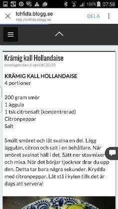 Hollandaise sås